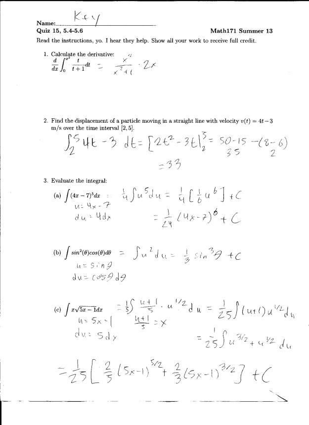 Ipm quiz2 a solution spring 2013